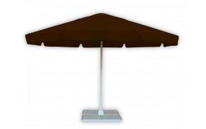 Зонт для кафе круглый 4 метра шоколадный
