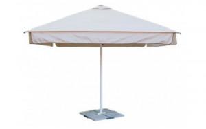 Зонт для кафе квадратный телескопический 4х4 метра