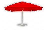 Зонт для кафе 4х4 телескопический квадратный