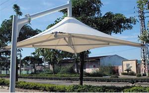 Зонт мембранный 4х4 метра