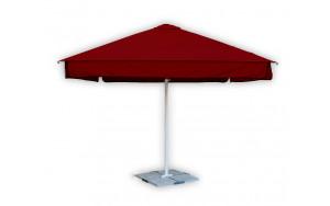 Зонт от солнца бордовый