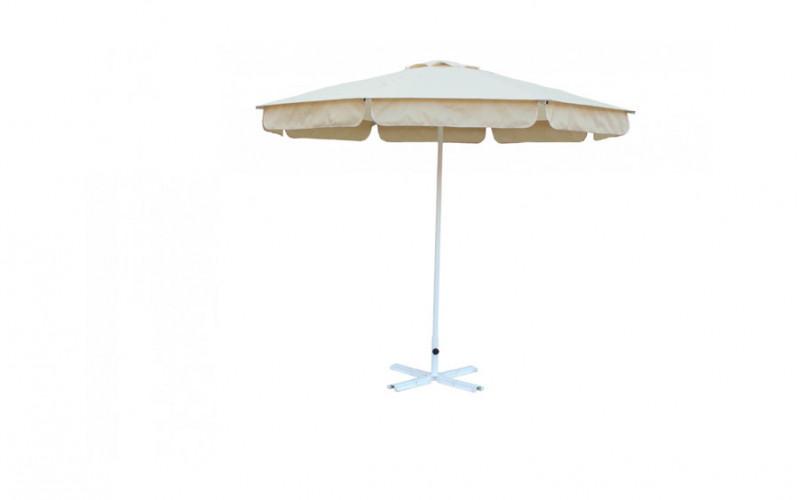 Зонт для кафе круглый 3 м (8) ал.