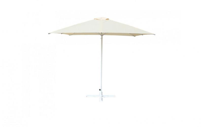 Зонт для кафе квадратный 2.5х2.5  м (8) ст.