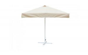 Зонт для кафе квадратный 2.5х2.5  м (8) ал.