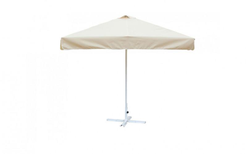 Зонт от солнца квадратный 2.5х2.5  м (8) ал.