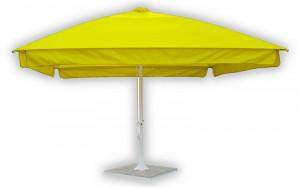 Зонт от солнца квадратный телескопический 4х4 метра