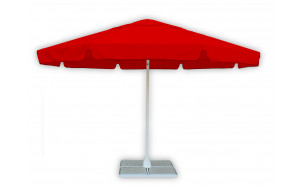 Пляжный зонт круглый 3 метра красный