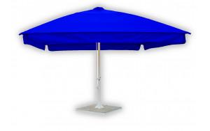 Пляжный зонт квадратный телескопический 4 метра синий