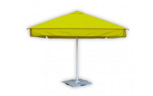 Садовый зонт квадратный 3 метра желтый