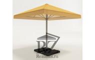 Зонт с центральной стойкой