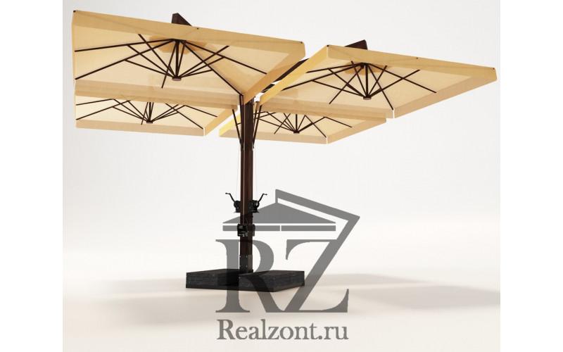 Зонт четырёх-купольный