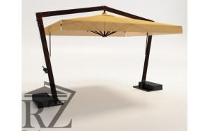 Зонт на двойной опоре