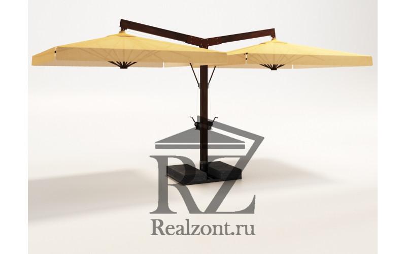 Зонт двух-купольный