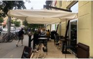 Зонт «ПРОМО» на боковой опоре